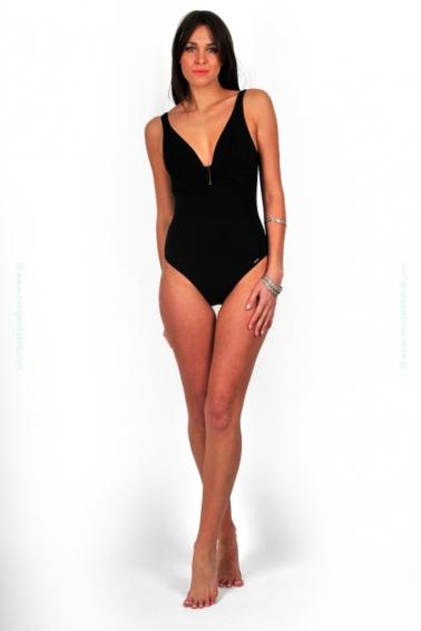 m840-livia-ultima-santaluz-maillot-de-bain-femme-une-piece-noir-bijou-u-drape-classique-mode-retro-indemodable-0447405001363553322