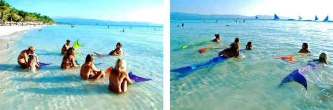Philippine mermaid swimming academy