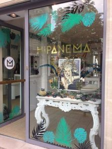 Pop-up store parisien Hipanema