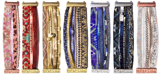 Bracelets Hipanema, Nouvelle collection Hiver 2014
