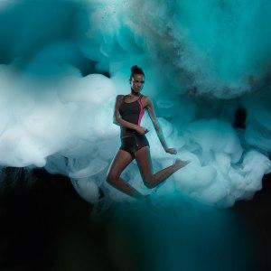 Maillot Freya 2 pièces - Violet Active Swim